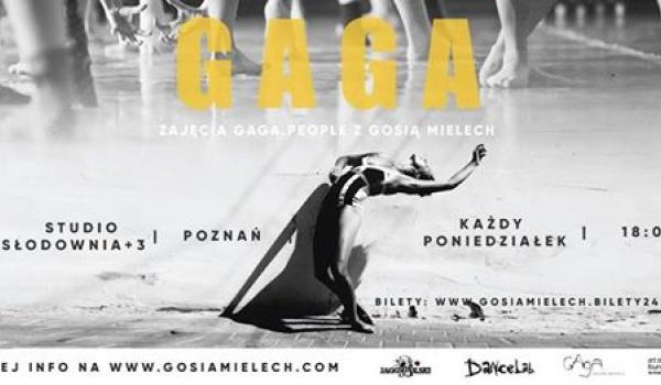 Going. | Gaga/People - regularne zajęcia z Gosią Mielech - SQ klub