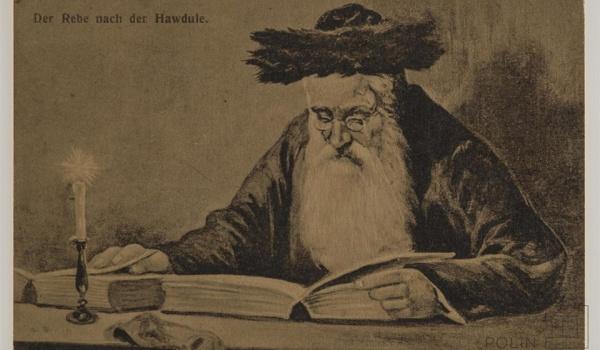 Going. | Żydowskie ABC | kolejny temat - Rabin - Muzeum Historii Żydów Polskich POLIN