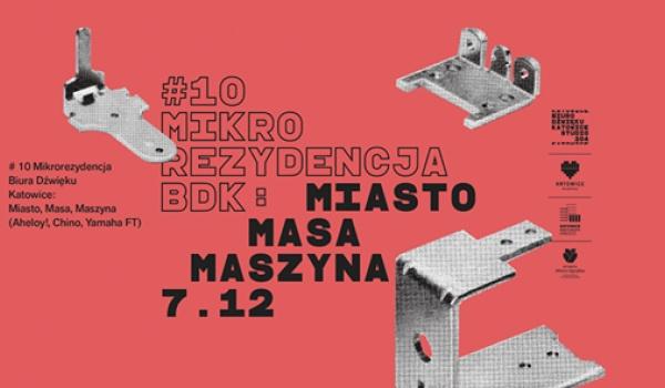 Going. | Mikrorezydencja BDK #10: Miasto, Masa, Maszyna - Jazz Club Hipnoza