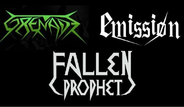 Going. | Fallen Prophet / Emissiøn / Grenade - Protestacja