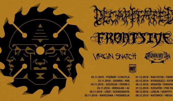 Going. | KO Tour - Decapitated, Frontside + VS, DMD - Klub Graffiti