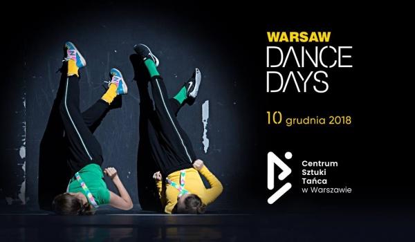 Going. | Warsaw Dance Days 2018 - Centrum Sztuki Tańca w Warszawie
