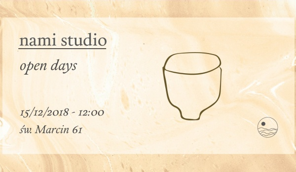 Going. | Nami studio open days - Nami studio - Lush Market
