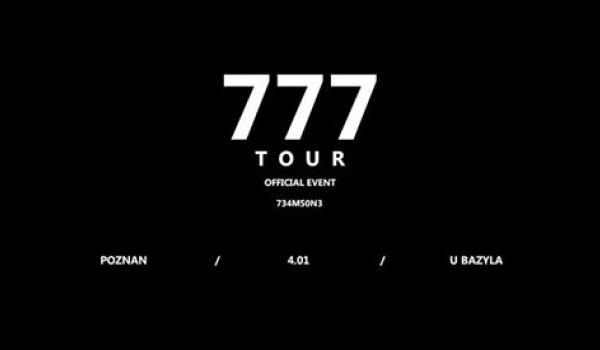Going.   Zeamsone / 777 TOUR / koncert czwarty / Poznań - Klub u Bazyla