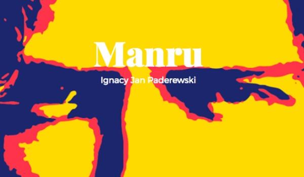 Going. | Manru | Premiera - TEATR WIELKI - OPERA POZNAŃ