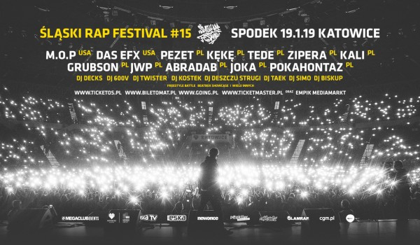 Going. | Śląski Rap Festival 2019 - Spodek