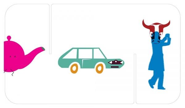 Going. | AKUKU Polska ilustracja dla dzieci - Centrum Praskie Koneser