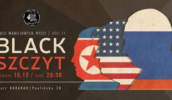 "Going. | NWM 11 ""Black Szczyt"" - premiera - Teatr Barakah / ArtCafe Barakah"