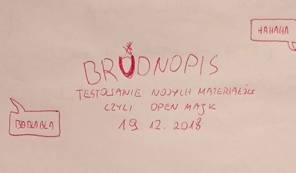 Going. | Brudnopis - open majk - KIJ - multitap bar