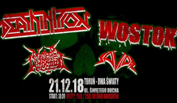 Going. | Deathinition, Wostok, Nuclear Holocaust, Savior / Thrash - Dwa Światy