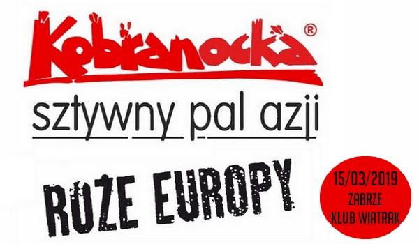 Going. | SOLD OUT // Kobranocka, Róże Europy, Sztywny Pal Azji - Klub CK Wiatrak