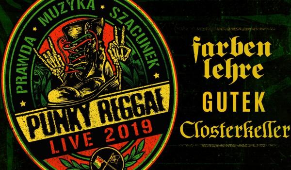 Going. | Punky Reggae Live | Farben Lehre, Gutek, Closterkeller | Poznań - Klub u Bazyla