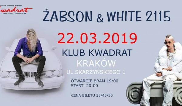 Going. | Żabson & White 2115 - Klub Studencki Kwadrat