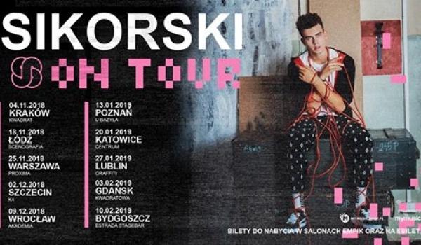 Going. | Sikorski on TOUR - Poznań - Klub u Bazyla
