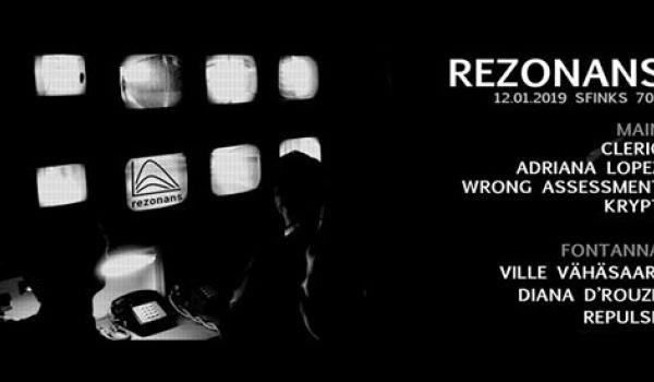 Going. | Rezonans V / Cleric / Adriana Lopez / Wrong Assessment / Krypt - Sfinks700