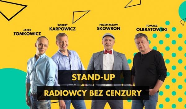 Going. | Stand- up Radiowcy bez cenzury - Scenografia