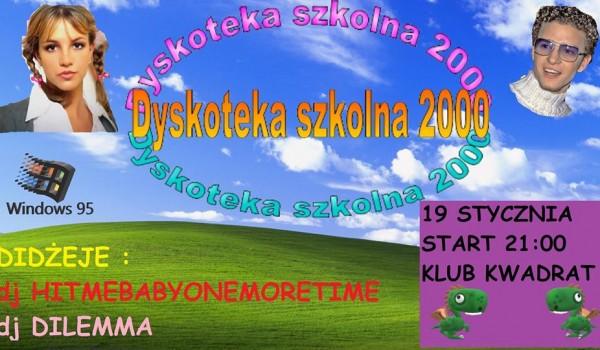 Going. | Dyskoteka Szkolna 2000 :) [ZMIANA DATY] - Klub Studencki Kwadrat