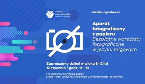 Going. | Aparat fotograficzny z papieru - Katowice Miasto Ogrodów