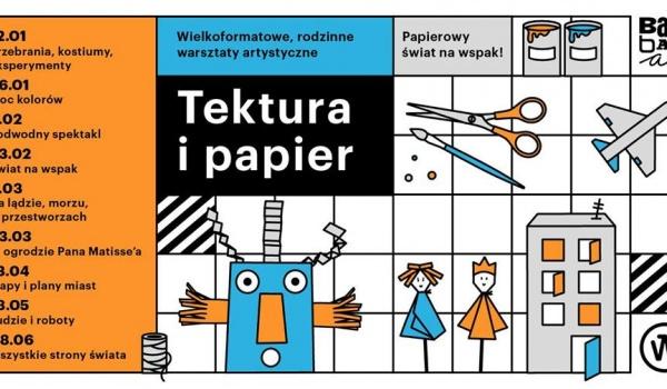Going. | Tektura i papier – wielkoformatowe warsztaty artystyczne - Barbara. Infopunkt, kawiarnia, kultura