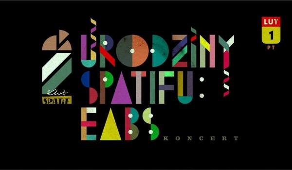 Going.   EABS, pożegnanie z Komedą - Drugie Urodziny Spatifu   SOLD OUT - Klub SPATiF