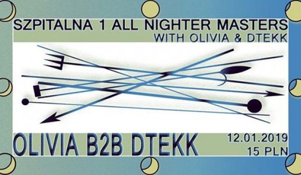 Going. | Szpitalna 1 All Nighter Masters: Olivia b2b Dtekk - Szpitalna 1