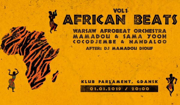 Going. | African Beats vol.1 - Gdańsk - Klub Muzyczny Parlament