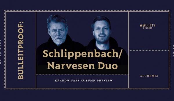 Going.   Bulleitproof: 14th KJJ Preview / Schlippenbach/ Narvesen Duo - Klub Alchemia