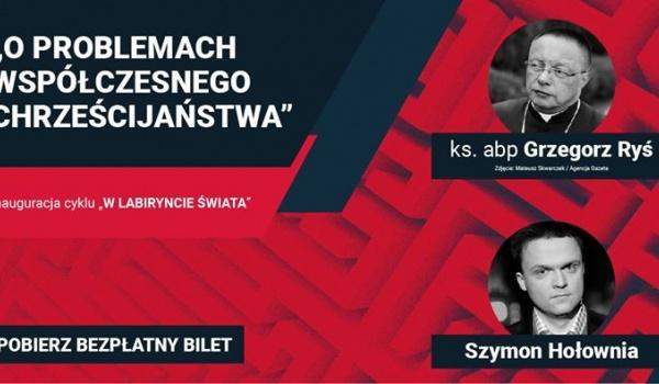 Going. | Hołownia i ks. abp Ryś o problemach chrześcijaństwa - Filharmonia Podkarpacka