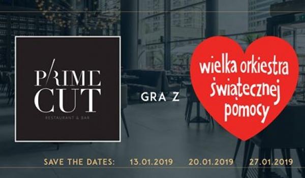 Going. | Prime Cut Gra z WOŚP / Kolacja z gwiazdami - Prime Cut Warsaw
