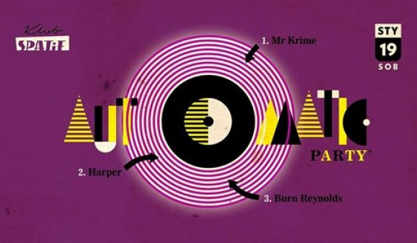 Going.   Automatic • 80's synth grooves • Mr Krime /Harper /Burn Reynolds - Klub SPATiF