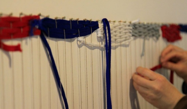Going. | Sploty | Otwarte działania warsztatowe - Centralne Muzeum Włókiennictwa / Central Museum of Textiles