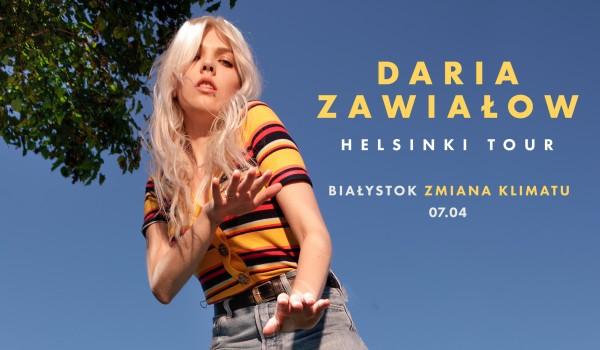 Going. | Daria Zawiałow / Zmiana Klimatu - Klub Zmiana Klimatu
