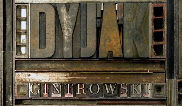 Going. | Marek Dyjak - Gintrowski - Klub Wytwórnia