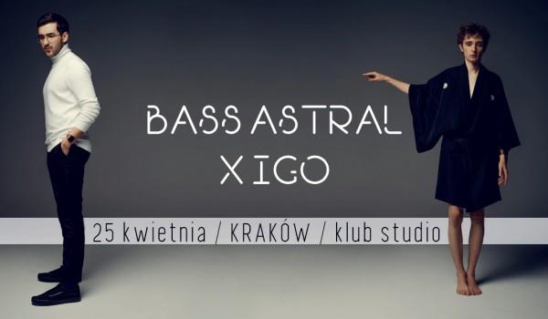 Going. | SOLD OUT / BASS ASTRAL X IGO / KRAKÓW - Klub Studio