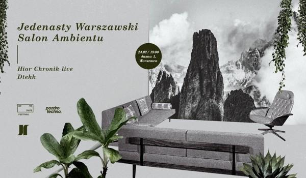 Going.   Jedenasty Warszawski Salon Ambientu - Jasna 1