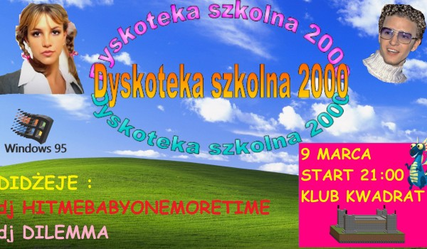Going. | SOLD OUT // Dyskoteka szkolna 2000 vol 2 - Klub Studencki Kwadrat