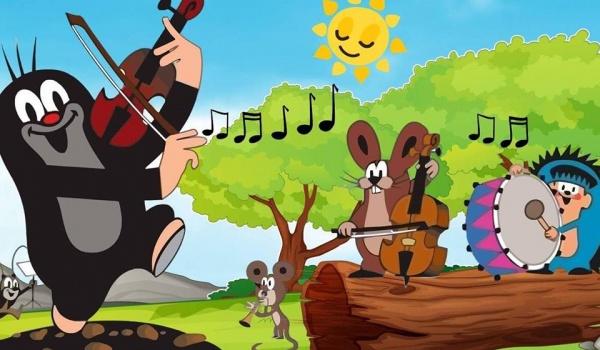 Going. | Koncert familijny. Krecik w filharmonii / bajka z muzyką na żywo - Filharmonia Bałtycka