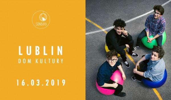 Going. | Sonbird / Lublin / 16.03.2019 - Dom Kultury Lublin