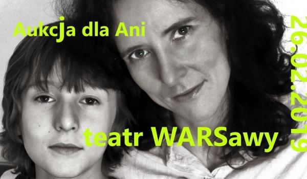 Going. | Aukcja dla Ani - Teatr WARSawy