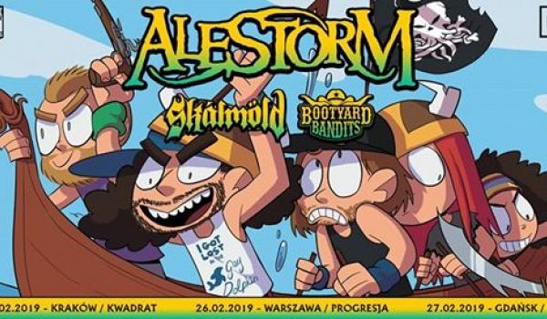 Going.   Alestorm + Skálmöld, Bootyard Bandits - Klub Studencki Kwadrat