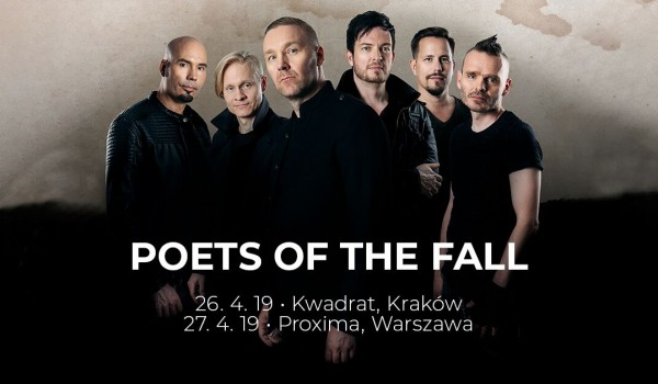 Going. | Poets Of The Fall | Kraków - Klub Studencki Kwadrat