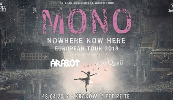 Going. | Mono + Arabrot, Jo Quail - Zet Pe Te