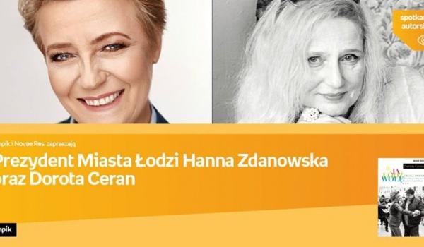 Going. | Prezydent Łodzi H.Zdanowska oraz D. Ceran - Empik Sp. z o.o. CH Manufaktura w Łodzi