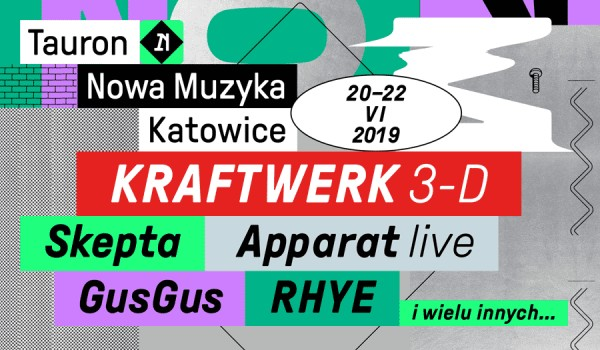 Going. | Tauron Nowa Muzyka Katowice / Bilet jednodniowy / Piątek - Tauron Nowa Muzyka