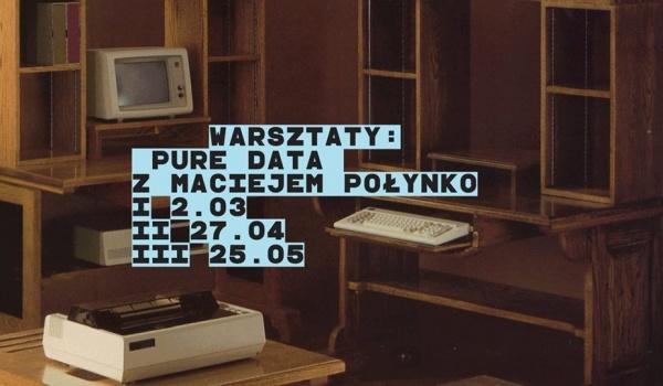 Going. | Warsztaty BDK: Pure Data z Maciejem Połynko - Jazz Club Hipnoza