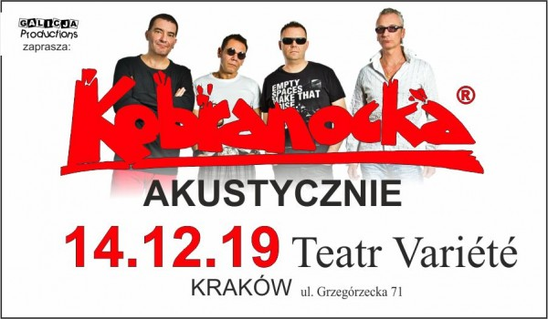Going. | Kobranocka Akustycznie - Krakowski Teatr VARIETE