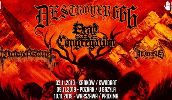 Going. | Deströyer 666 + Dead Congregation - Klub u Bazyla