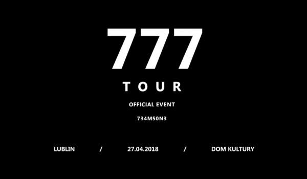 Going. | Zeamsone / 777 TOUR / Lublin - Dom Kultury Lublin