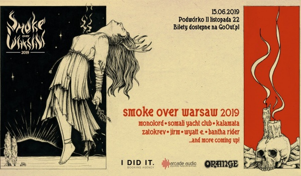 Going. | Smoke Over Warsaw 2019 - Klubokawiarnia Chmury
