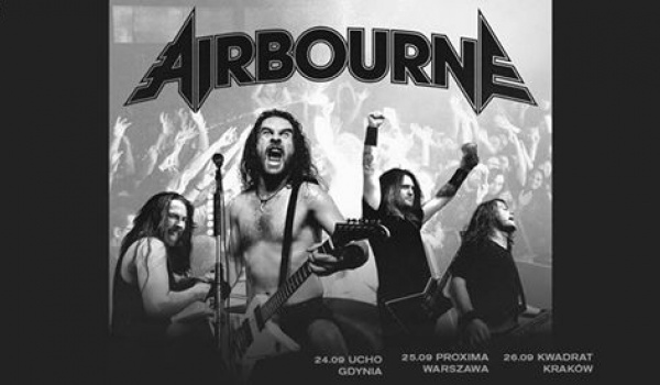 Going. | Airbourne - Klub Muzyczny Ucho